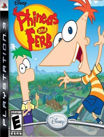 Phineas and Ferb Playstation Party Cover.jpg