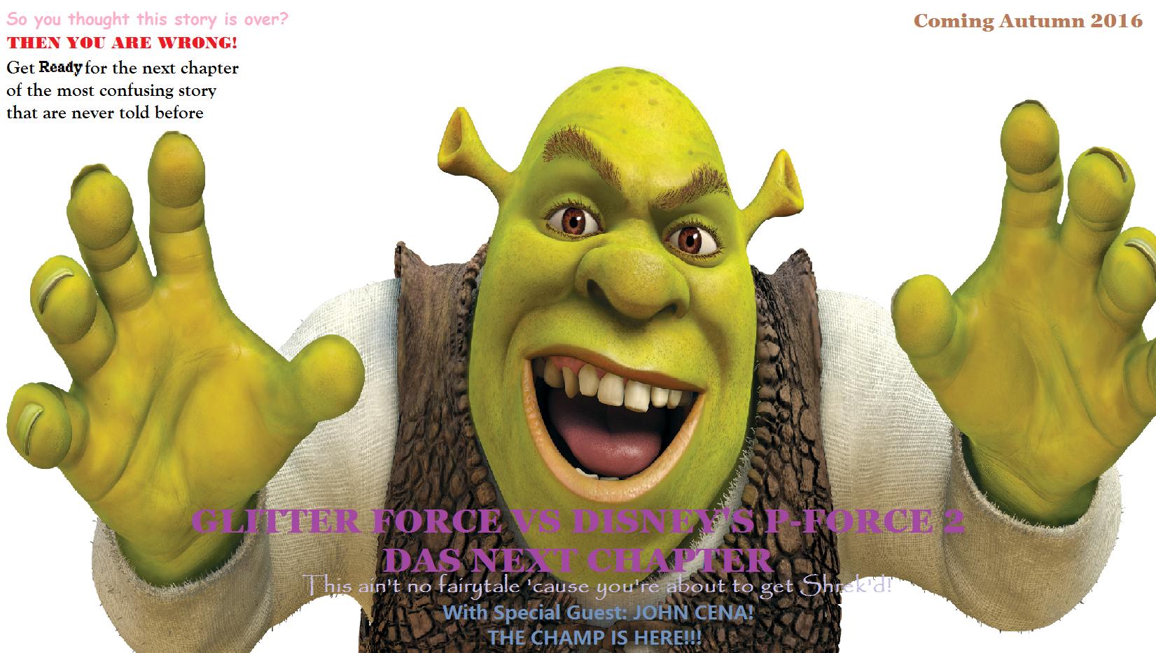 Glitter Force VS Disney's P-Force 2: Das Next Chapter