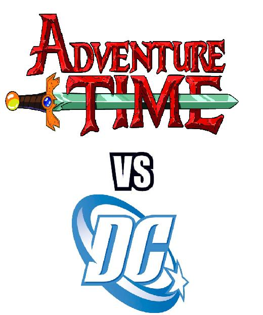 Adventure Time vs DC