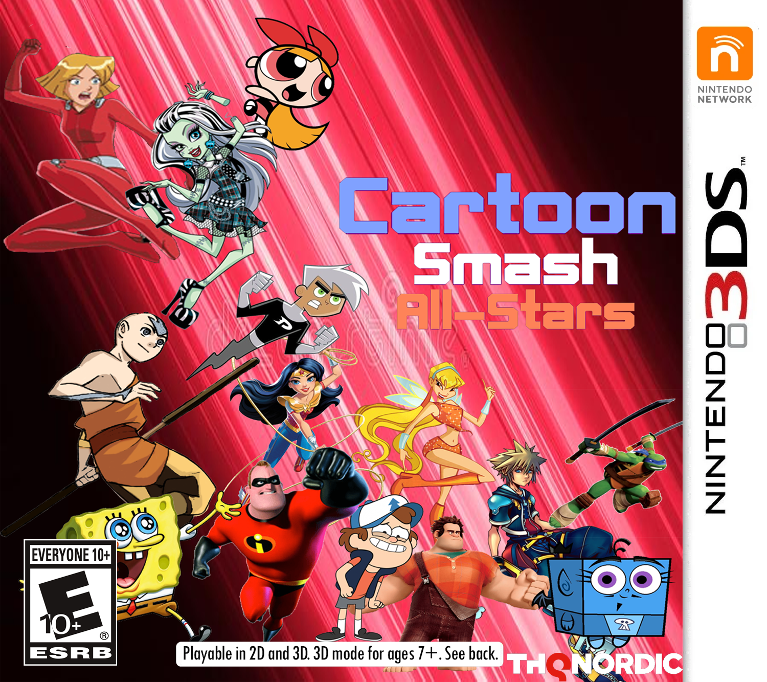 Cartoon Smash All-Stars for Nintendo 3DS/PlayStation Vita/Wii U/PlayStation 4/Xbox One