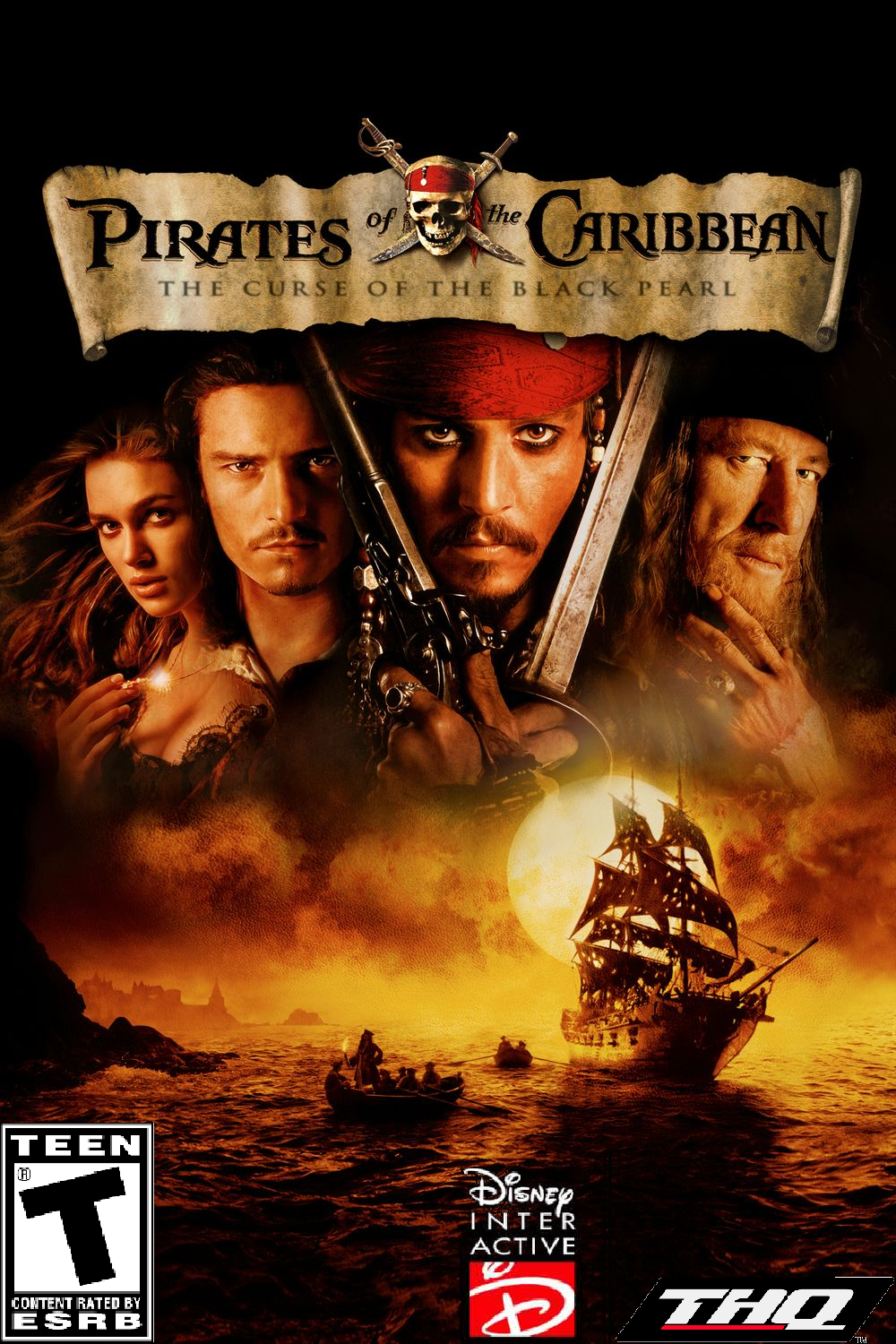 Pirates of the Caribbean: The Curse of the Black Pearl (2003 console game)