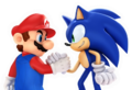 Mario and Sonic team up
