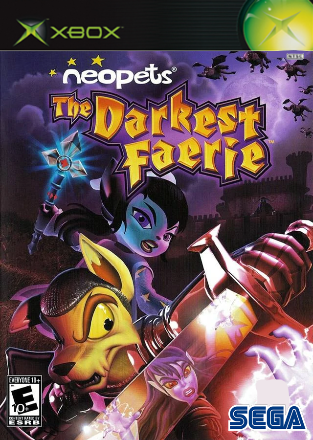 Neopets The Darkest Faeries (Nintendo GameCube/XBOX)