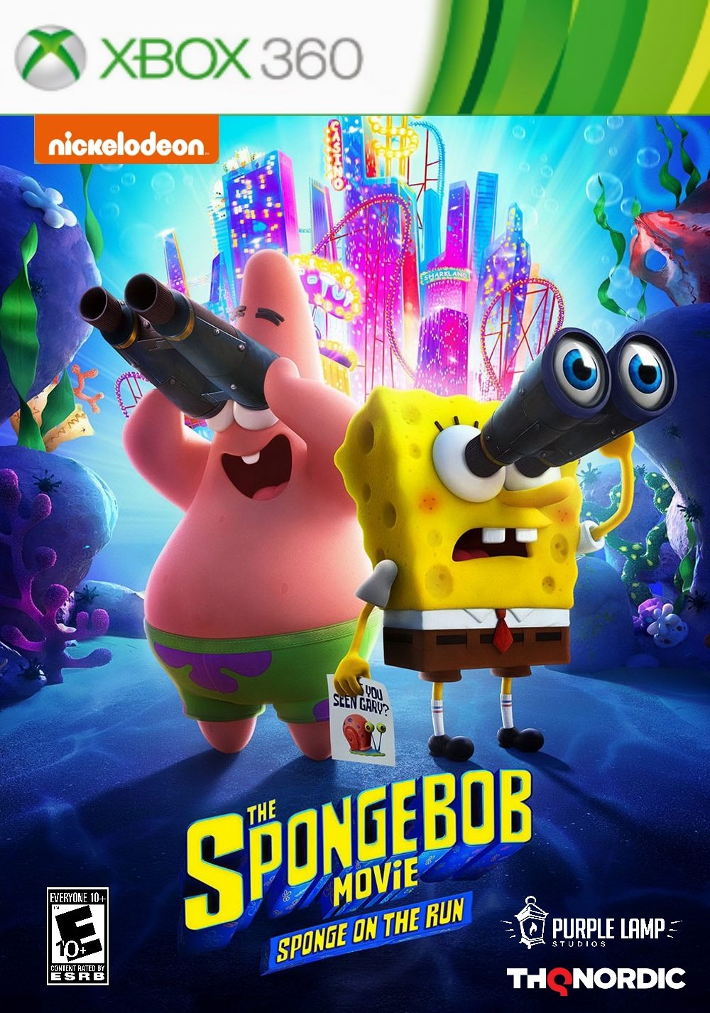 The SpongeBob Movie: Sponge on the Run (video game)