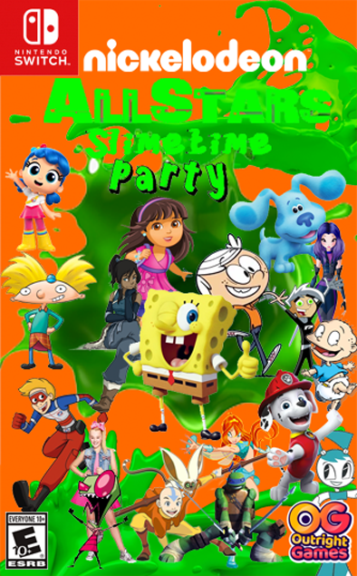 Nickelodeon All Stars Slimetime Party!