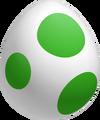 Yoshi Egg Green (NSMBU Artwork)