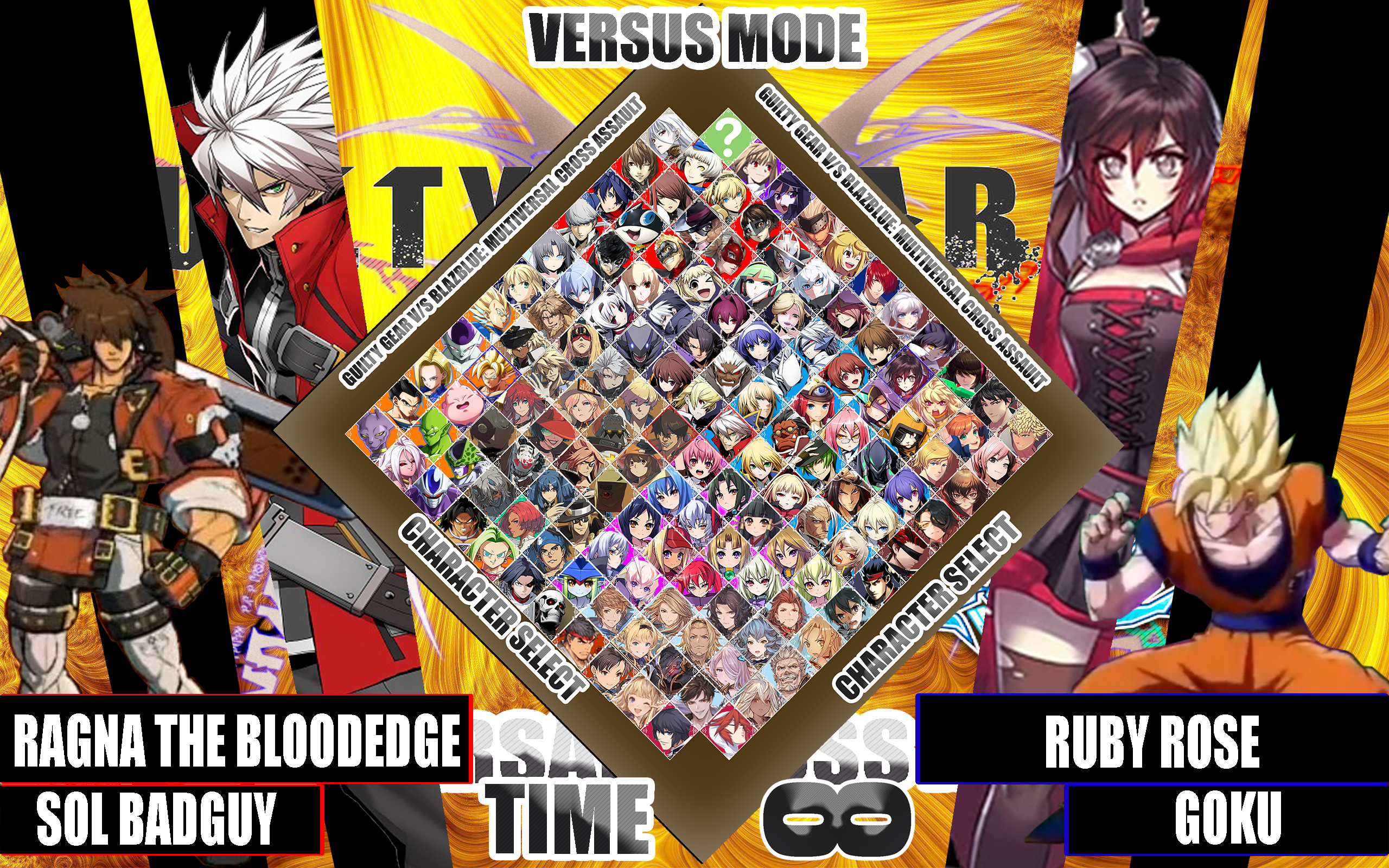 Guilty Gear vs BlazBlue: Multiversal Cross Assault