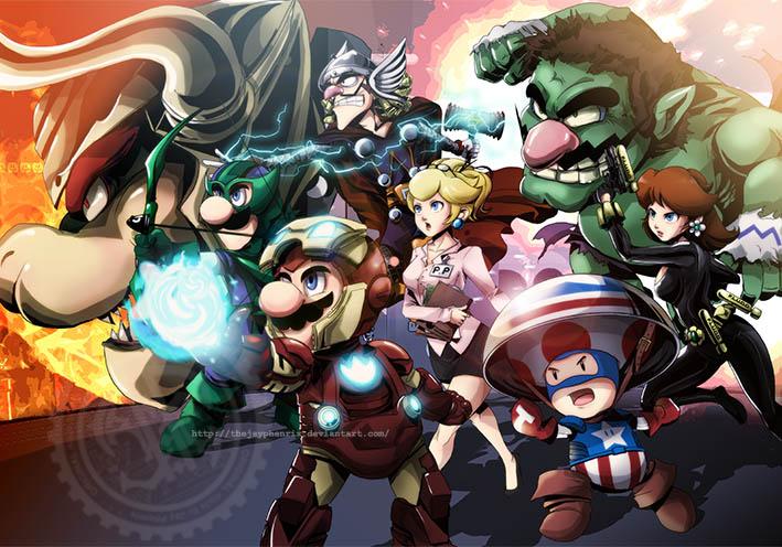 Mario Avengers