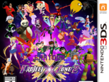 Cartoon Project X Zone 2