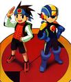 Megaman exe and lan