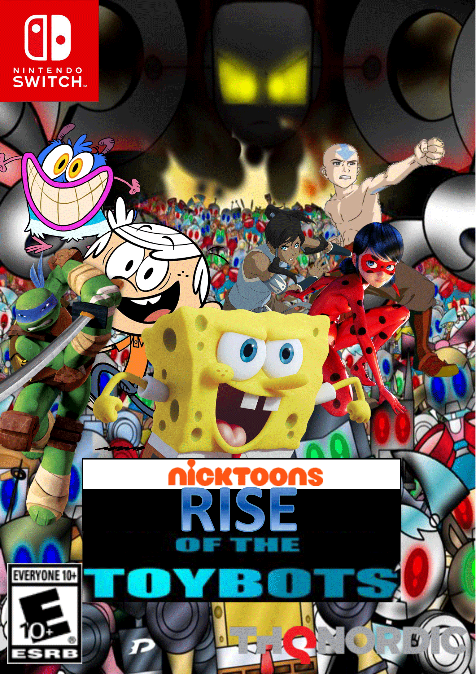 Nicktoons: Rise of the Toybots