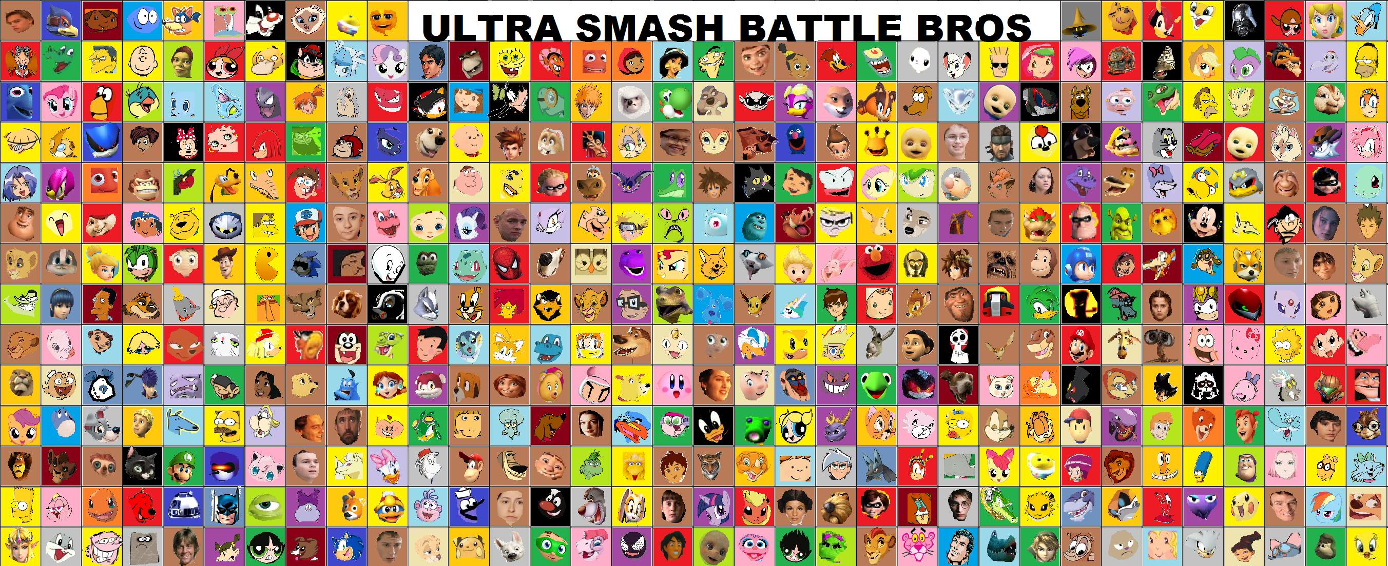 Ultra Smash Battle Bros