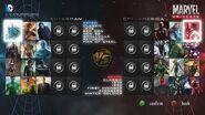 DC vs Marvel - Video Game - Main Menu Tour (Fan-Made)