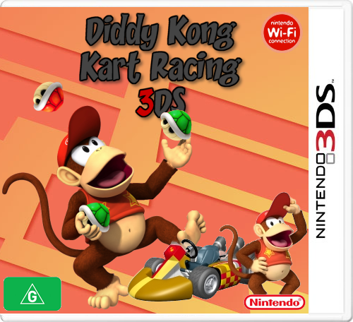 Diddy Kong Kart Racing 3DS