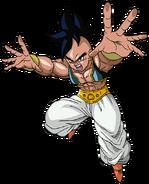 Super Dragon Ball Heroes World Mission - Character Sticker - Majuub 2