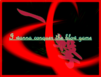 I Wanna Conquer The Blow Game - Title Screen