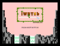 I Wanna Be The 8bit - Title Screen