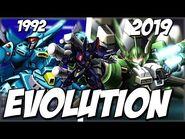 【スパロボ】ゲシュペンストシリーズ進化の軌跡 - Evolution of GESPENST (SRW) - 1992-2019
