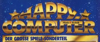 Logo von Happy Computer Spiele-Sonderteil
