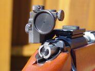Rear aperture sight