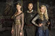 Promo (Aslaug, Ragnar & Lagertha) Saison 2