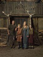Promo (Ragnar, Bjorn, Lagertha, Gyda) Saison 1 (1)