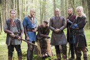 Promo (Hvitserk, Bjorn, Ivar, Ragnar, Ubbe, Sigurd) Saison 4