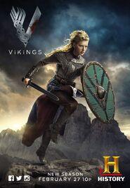 Vikings S02P02, Lagertha