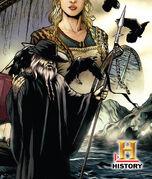 Odin at Vikings comics cover