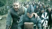 Ivar and Hvisterk lead the Great Army to attack York
