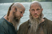 Old Ragnar and Floki