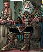 Odin in Vikings - Blood Legacy comics