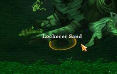 Lockerer Sand