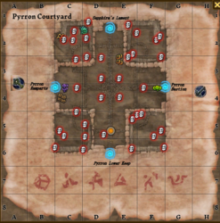 Pyrron Courtyard