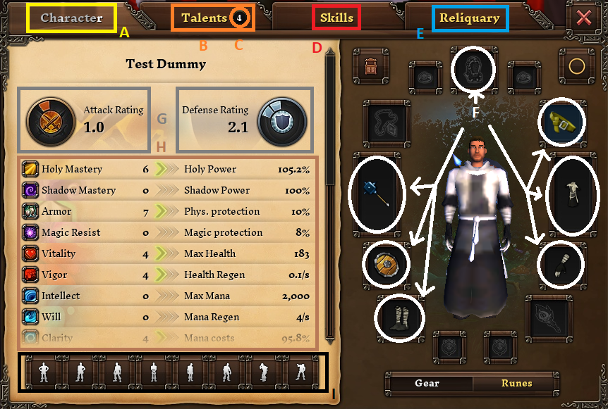 Tut Combat - Stats - 1 - First Glance.png