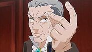Phoenix Wright - Ace Attorney Anime Music (The Invincible Manfred von Karma)