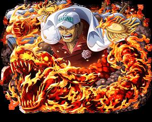 Akainu amiral magma