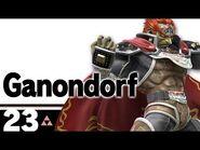 23- Ganondorf – Super Smash Bros