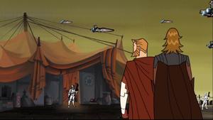 Anakin Skywalker urgent message