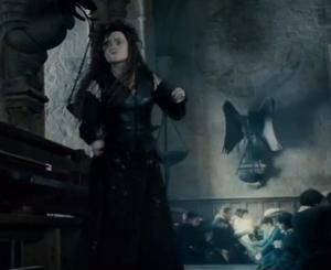 Bellatrix fighting Molly