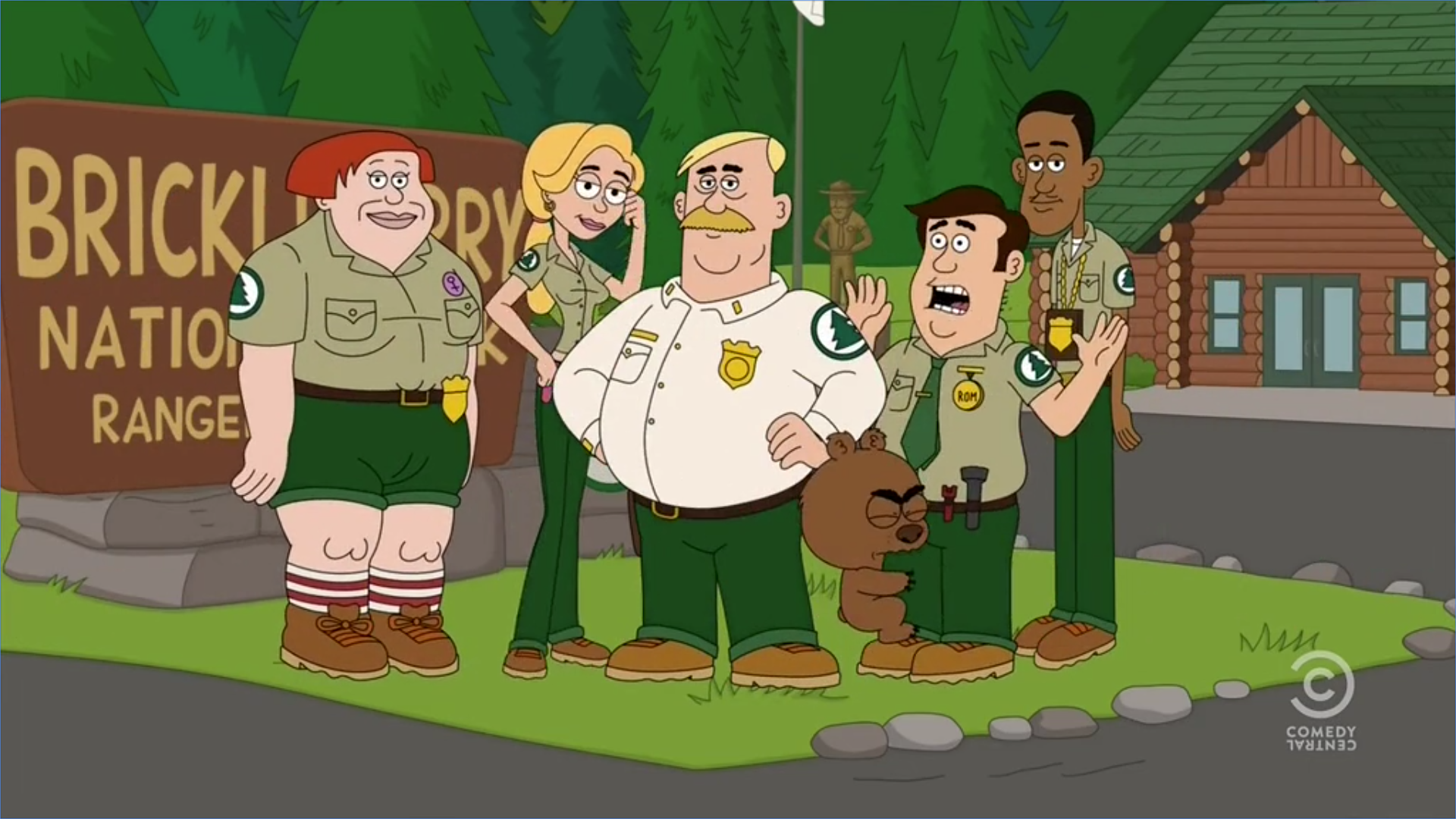 Brickleberry National Park