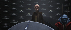 Chancellor Palpatine ceded