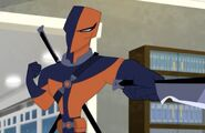 Deathstroke DC Super Hero Girls