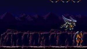 Demon's Crest Boss Battle Arma