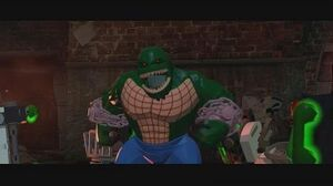 LEGO Batman 3 Beyond Gotham - Killer Croc Gameplay Boss Battle 1080p HD