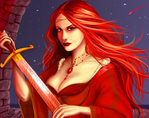 Melisandre by CalinnVojnngat george R.R. RR Martin song of ice and fire game of thrones dance with dragons fantasy