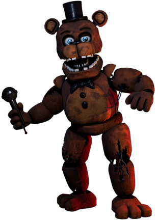 Withered Freddy
