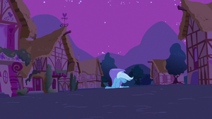 And stay out of this town, Trixie!