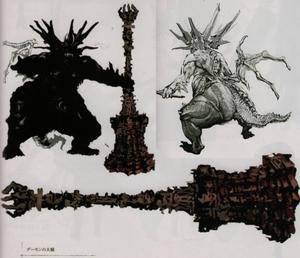 Asylum Demon Concept
