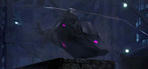 Crisscross-helicopter